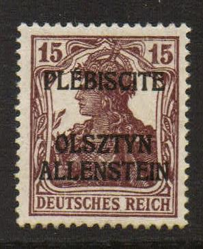 Lot #18 Allenstein Michel 46 I ** VF