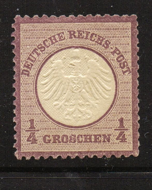 Lot #11 Germany Scott # 1 ** VF